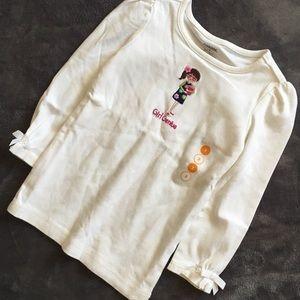 Gymboree Smart & Sweet Girl Genius Tee Shirt 3